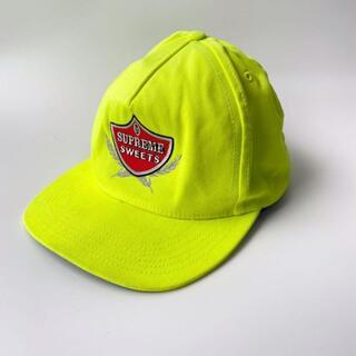 シュプリーム(Supreme)の美品 2015 シュプリーム supreme キャップ CAP 刺繍 USA製(キャップ)