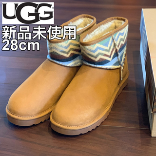 アグ(UGG)の【新品未使用】UGG ムートンブーツ ショート メンズ(ブーツ)