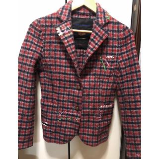 ダブルスタンダードクロージング(DOUBLE STANDARD CLOTHING)のDOUBLE STANDARD CLOTHING ジャケット チェック(テーラードジャケット)