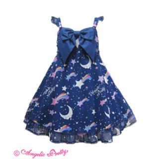 アンジェリックプリティー(Angelic Pretty)のDream Skyジャンパースカート(ひざ丈スカート)