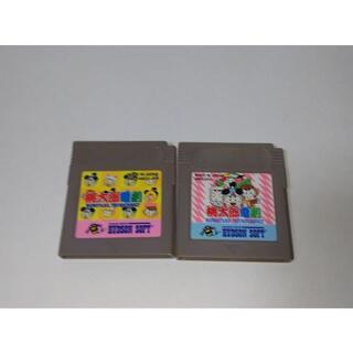 ゲームボーイ(ゲームボーイ)の≪GB≫桃太郎電劇 1&2(携帯用ゲームソフト)