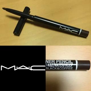 マック(MAC)のMACアイライナー ブラック&コーヒー(アイライナー)