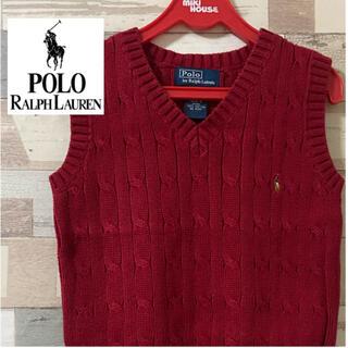 ポロラルフローレン(POLO RALPH LAUREN)の【ラルフローレン】 キッズベスト 90cm(Tシャツ/カットソー)
