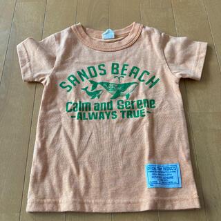 ニードルワークスーン(NEEDLE WORK SOON)のオレンジマダラ模様クジラ柄 100 オフィシャルチーム製品(Tシャツ/カットソー)
