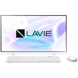 エヌイーシー(NEC)のLAVIE Smart HA ファインホワイト 【新品・未開封】(デスクトップ型PC)