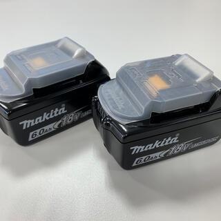 マキタ(Makita)の新品 マキタ makita 18V バッテリー 純正 BL1860B 2個セット(その他)