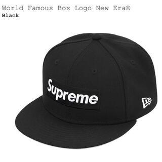 シュプリーム(Supreme)のSupreme  Box Logo New Era BLACK 7 1/4 新品(キャップ)