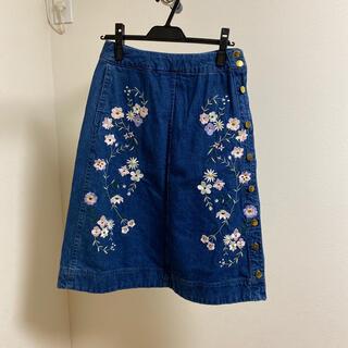 Chesty - chesty♪刺繍デニムスカート