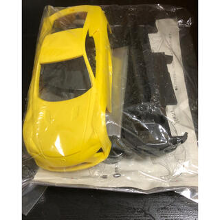 トヨタ(トヨタ)の【非売品】レクサス LFA プラスチック製 ミニカー(模型/プラモデル)