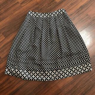 インディヴィ(INDIVI)のお値下げ!美品★INDIVI フレアスカート★36サイズ(ひざ丈スカート)