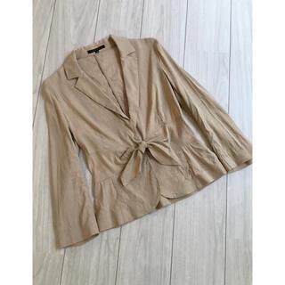 セオリー(theory)の『セオリー⭐︎theory』おリボン素敵な長袖ジャケット(テーラードジャケット)