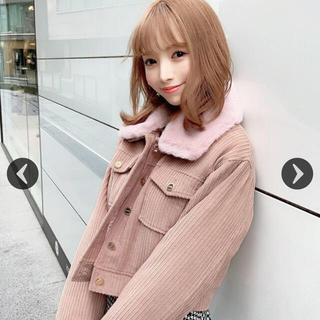 ミシェルマカロン アウター ピンク ジャケット コート ワンピース スカート