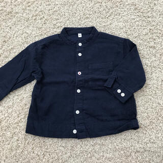 MUJI (無印良品) - 無印 長袖シャツ 90