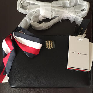 TOMMY HILFIGER - Tommy Hilfiger リボン ショルダーバッグ