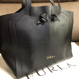 Furla - FURLA  黒トートバッグ