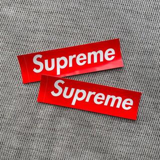 シュプリーム(Supreme)のsupreme ステッカー(しおり/ステッカー)