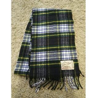 イエナ(IENA)のスコットランド製 ウール100% マフラー(マフラー/ショール)