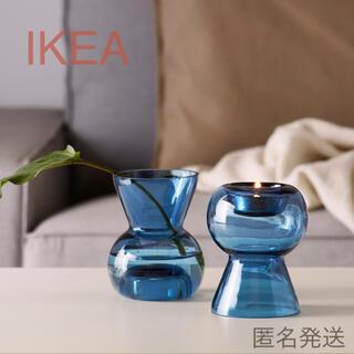 イケア(IKEA)の【新品】IKEA キャンドルホルダー(フラワーベース)☆(花瓶)