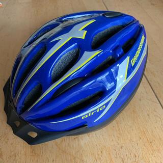 ブリヂストン(BRIDGESTONE)の【ぽち様専用】ブリヂストン エアリオ ヘルメット Lサイズ ブルー(ヘルメット/シールド)