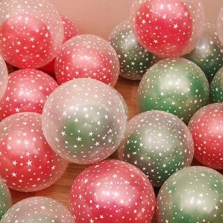 風船 バルーン クリスマス パーティー 誕生日 飾り付け 12個入り(ウェルカムボード)