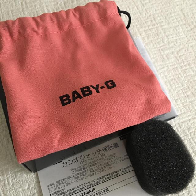 Baby-G(ベビージー)のCASIO BABY-G  BGA-225-9AJF  未使用 レディースのファッション小物(腕時計)の商品写真