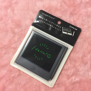 キングジム(キングジム)のブギーボード  BB-12 ブラック(ノート/メモ帳/ふせん)