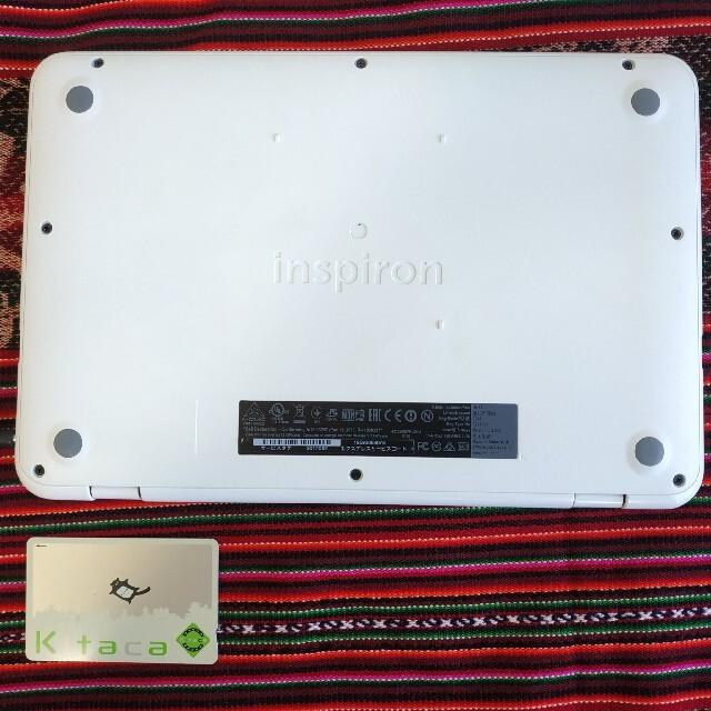 DELL(デル)のDell Inspiron 11 3162 モバイルノートパソコン スマホ/家電/カメラのPC/タブレット(ノートPC)の商品写真