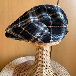 バーバリーブルーレーベル(BURBERRY BLUE LABEL)のBURBERRY BLUE  LABELハンチング約56cm(ハンチング/ベレー帽)