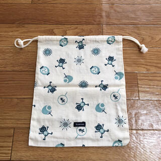 サンカンシオン(3can4on)の新品 3can4on 巾着袋(ポーチ)