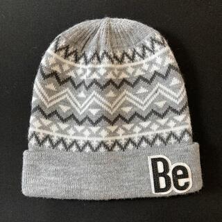 ベベ(BeBe)のBeBe ニット帽 キッズ Sサイズ(帽子)