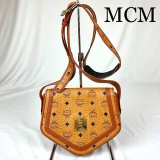 エムシーエム(MCM)のMCM ロゴ金具 スクエア ショルダーバッグ(ショルダーバッグ)