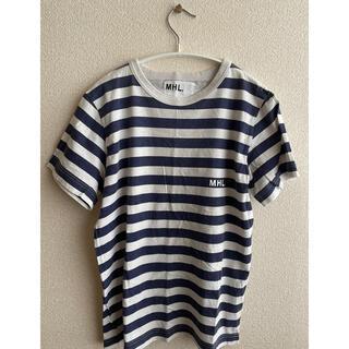 マーガレットハウエル(MARGARET HOWELL)のMHL. ボーダーTシャツ(Tシャツ(半袖/袖なし))