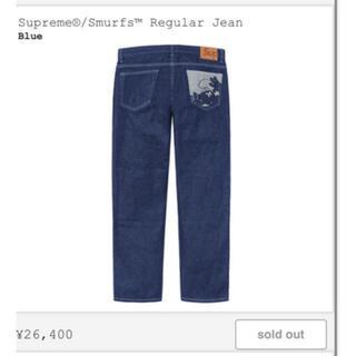 Supreme - Supreme Smurfs Regular Jean Indigo 32