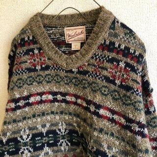 WOOLRICH - WOOLRICH ウールリッチ ニット セーター ※大きめSサイズ