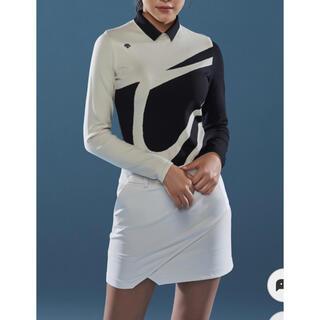 デサント(DESCENTE)のDESCENTEレディース 韓国裏起毛スカート  新品、正規、タグ付き(ウエア)