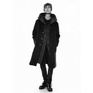 Jil Sander - カシミヤブレンドオーバーサイズチェスターコート 黒 XLユニクロ ジルサンダー