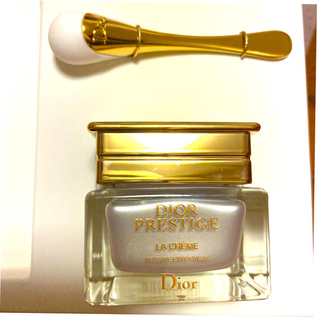 Christian Dior(クリスチャンディオール)のディオール プレステージ ラ クレーム 15ml&マッサージスティック 新品 コスメ/美容のスキンケア/基礎化粧品(フェイスクリーム)の商品写真