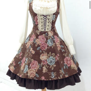 Innocent World - ローズゴブランフレアジャンパースカート