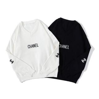 CHANEL - CHANEL 0306 トレーナー ロゴ 男女兼用 2枚14000円