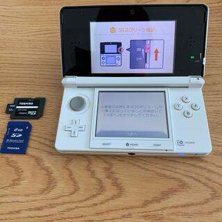 ニンテンドー3DS - ニンテンドー3DS本体 ホワイト