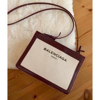 バレンシアガバッグ(BALENCIAGA BAG)のバレンシアガ✩ポシェット ショルダー ボルドー(ショルダーバッグ)
