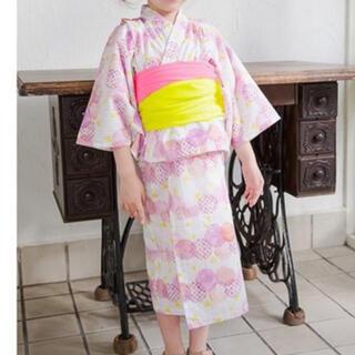 エフオーキッズ(F.O.KIDS)のアプレレクール 浴衣 100cm ピンク(甚平/浴衣)