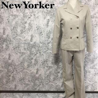 ニューヨーカー(NEWYORKER)のニューヨーカー パンツ ダブルジャケット セットアップスーツ L相当(スーツ)