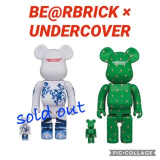 メディコムトイ(MEDICOM TOY)のBE@RBRICK undercover 2種セット (キャラクターグッズ)