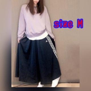 adidas - 新品 adidas マストハブ スカート ロング アディダス M サイズ ブルー
