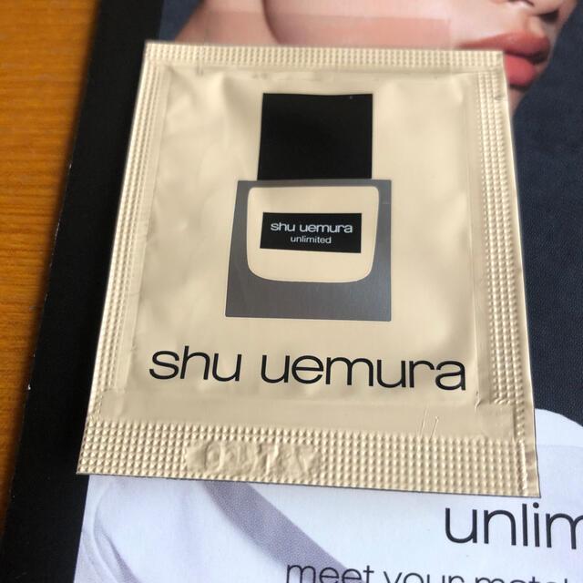 shu uemura(シュウウエムラ)のシュウウエムラ人気ファンデーション サンプル コスメ/美容のキット/セット(サンプル/トライアルキット)の商品写真