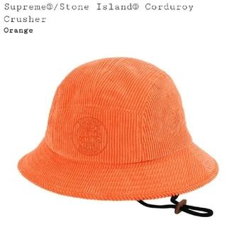 シュプリーム(Supreme)のSupreme Stone Island Corduroy Crusher (ハット)