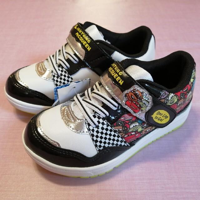 MOONSTAR (ムーンスター)のムーンスター☆カーズ☆スニーカー キッズ/ベビー/マタニティのキッズ靴/シューズ(15cm~)(スニーカー)の商品写真