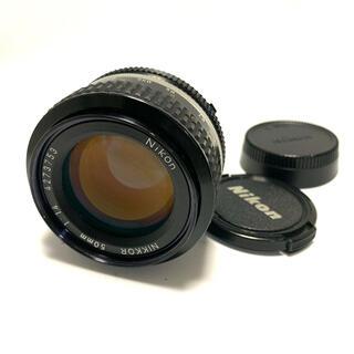 Nikon - 【美品】ニコン Nikon AI NIKKOR 50mm F1.4 Fマウント