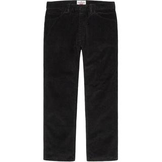Supreme - 20fw 新品 黒 34 stone island corduroy pant